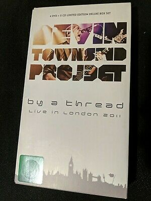 Devin Townsend Project, BY A THREAD Rare Limited Edition 4 DVD + 5 CD • 43£