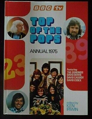 B.B.C TV Top Of The Pops Annual 1975 Edition. Published By World Distributors Lt • 3.99£
