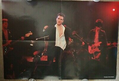 The Smiths Morrissey Poster From 1983 - Original Promo Poster  • 30£