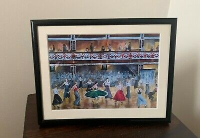 Northern Soul; Northern Soul Dancers, Wigan Casino, I Go To Pieces, Framed Print • 14.75£