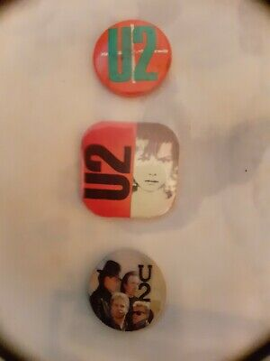 U2 Pin Badge • 0.99£