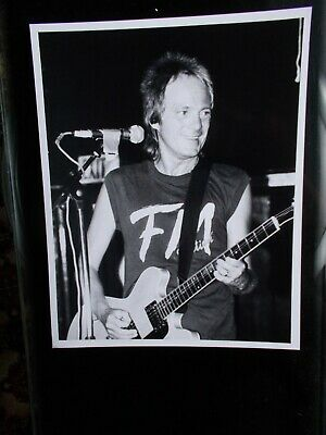 Steve Marriott Live Original B&w Concert Photo From 1990 • 6.99£