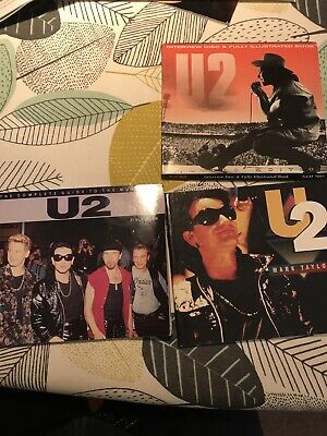 U2 Books X3 Bill Graham, Mark Taylor • 5£