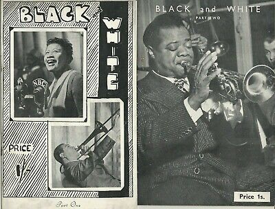 Black And White Part 1 & 2. 1945/6 Pamphlets:Discographical Society Cliff Jones  • 8£