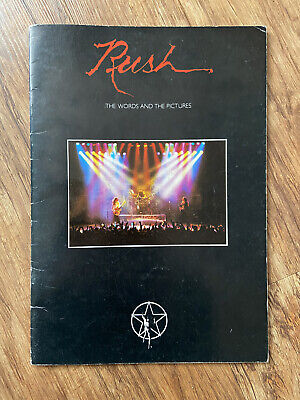 Rush – RARE 1979 Tour Programme - The Words And The Pictures • 13.80£