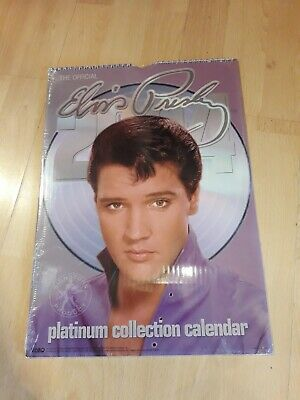 Elvis Presley Platinum Collection Calendar 2004 - Unopened  • 5£
