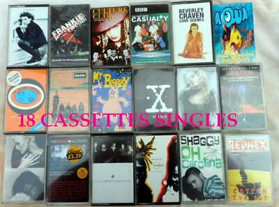 Cassettes Albums & Singles Various Artistes Bands  Approx 90 Cassettes In Total • 49.50£