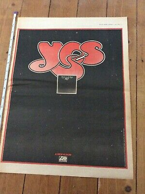Yes - Close To The Edge Vintage Music Newspaper Advertisement 1972 • 14.99£