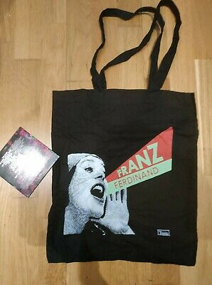 Franz Ferdinand OFFICIAL Tote Bag INDIE PUNK POSTER Rare • 11.99£