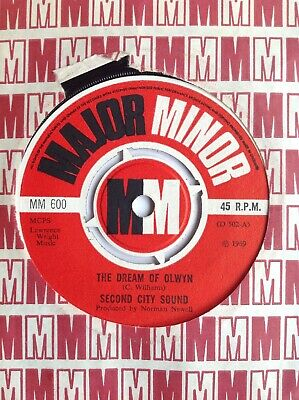 Second City Sound / The Dream Of Olwyn / Major Minor 45rpm 1969 • 3£