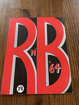R And B 64 Programme  The Animals Carl Perkins Etc • 10£