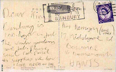 The Who Repro 1965 Keith Moon Hand Written Signed Postcard  • 14.99£