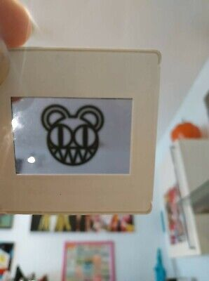 Radiohead Set Of Promo Projector Slides For Kid A Album Rare Vintage Collectible • 29.99£
