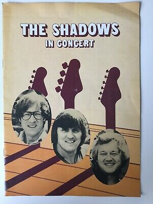 The Shadows In Concert Music Programe 1978 • 3.67£