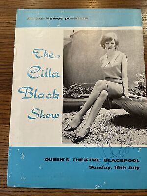The Cilla Black Show Programme From  19th July 1963 Signed On Front Cover • 36.98£