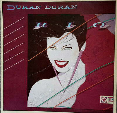 Signed Duran Duran Rio Tour Program Signed By Four Band Members. Not Nick Rhodes • 41£