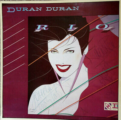 Signed Duran Duran Rio Tour Program Signed By Four Band Members. Not Nick Rhodes • 30£