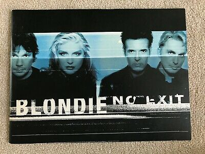 Blondie No Exit Tour Programme Including Leaflets. Condition - Like New • 10£