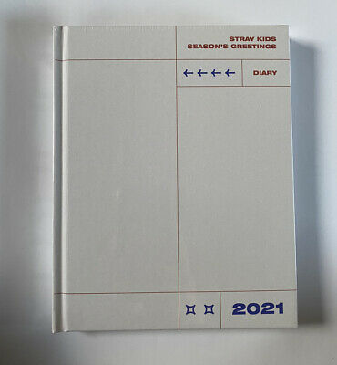 Official Stray Kids Season's Greetings 2021 Diary (SEALED) • 8£