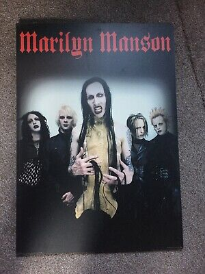 Marilyn Manson Mounted Poster • 5.99£
