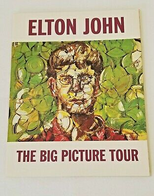 Elton John ~ The Big Picture Tour ~ 1998 Souvenir Program ~perfect! • 6.79£
