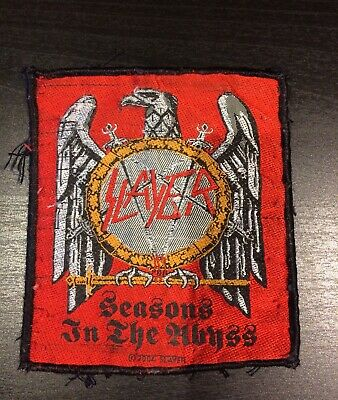 Slayer 2004 Patch Seasons In The Abyss M/ • 7.99£