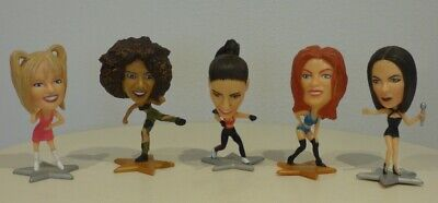 Complete Original Set Of All 5 Spice Girls Topps Figurines From 1997 • 9£