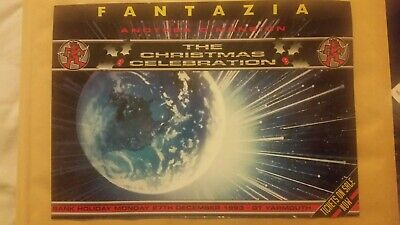 RARE Fantazia Christmas Celebration Rave Flyer, 27 Dec 1993, Great Yarmouth, A4 • 30£