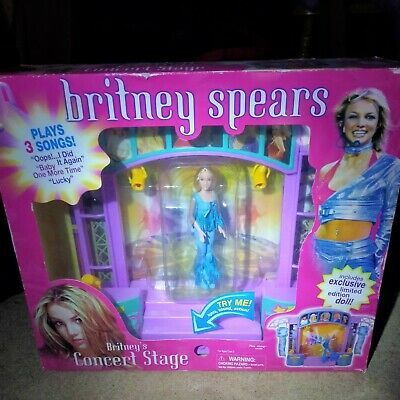 Britney Spears Doll With Stage, In Box • 31£