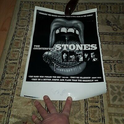 Stones Poster Singed 1998 • 15£