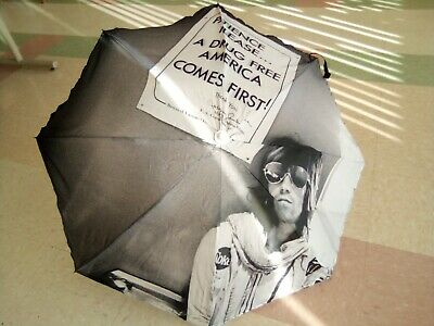 KEITH RICHARDS Rolling Stones DRUGGY 42  Polyester UMBRELLA LAST ONE • 16.44£