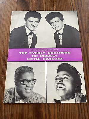 The Rolling Stones  Everly Brothers Bo Diddley Little Richard Programme • 35£