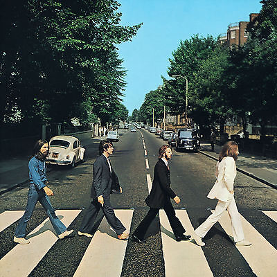 The Beatles...ABBEY ROAD.. Retro Album Cover Poster Various Sizes • 8.99£