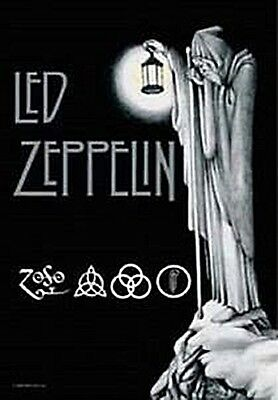 Led Zeppelin Stairway To Heaven Large Fabric Poster 1100mm X 700mm  (hr)   • 10.99£