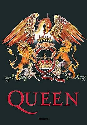 Queen Crest Large Fabric Poster / Flag   1100mm X 750mm (hr)   • 9.99£
