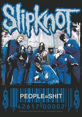 Slipknot People = S**t Large Fabric Poster / Flag 1100mm X 750mm (hr)   • 9.99£