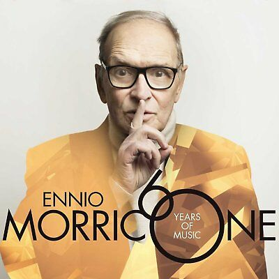 Ennio Morricone: 60 Years Of Music CD (Greatest Hits / The Very Best Of) • 12.99£