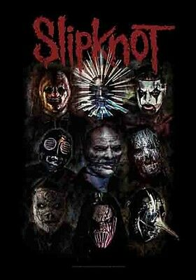 Slipknot Oxidised Large Fabric Poster / Flag   1100mm X 750mm (hr)   • 9.99£