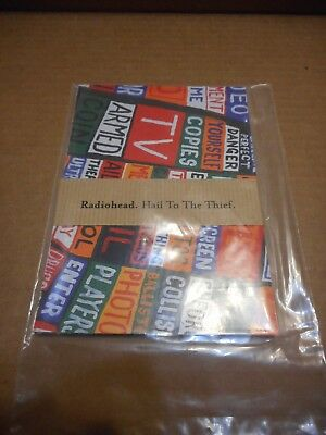 Radiohead - Original Hail To The Thief Postcards • 15.96£