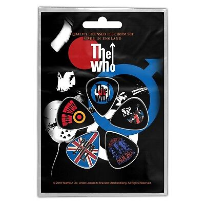 The Who 5 X Guitar Plectrum Pack (rz)  • 4.99£