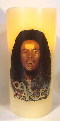 Bob Marley Electronic Flickering Candle Flameless • 9.99£