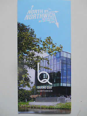 THE CHARLATANS North By Northwich Flyer (May 2018)  CW Nine MINT!! • 0.99£