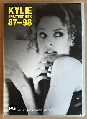 Kylie Minogue - Greatest Hits 87-98 Australian Edition 29 Track Dvd 2003 Import • 24.99£