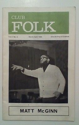 Club Folk Magazine Volume 2 Number 2 • 19.95£