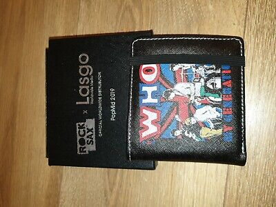 Bnwt Rare The Who 'my Generation' Rock Sax Official Wallet - Discontinued • 15£