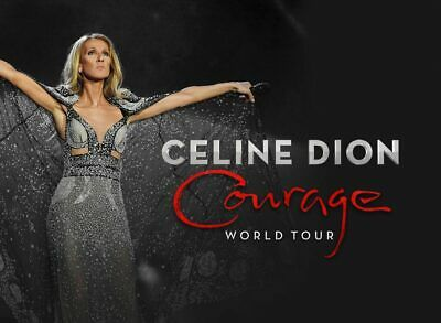 New - Celine Dion Courage Tour 2019 Full VIP Gift Set - No Concert Tickets • 20.03£