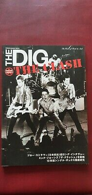 THE DIG Special Edition CLASH - Joe Strummer Japanese Magazine 2006 LIKE NEW • 45£