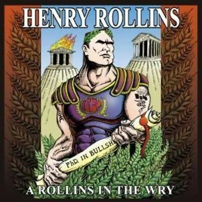 Henry Rollins - A Rollins In The Wry - Henry Rollins CD ARVG The Cheap Fast Free • 5£