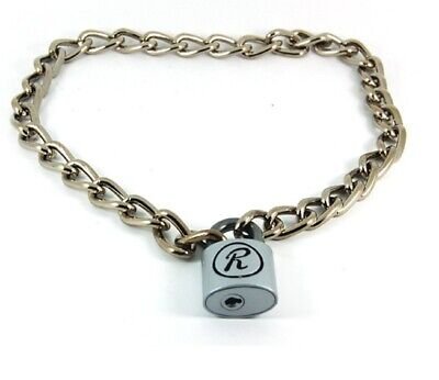 Sid Vicious  R  Padlock & Chain Punk Necklace • 12£