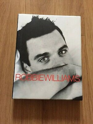 Robbie Williams Book. With Signed Incert. • 6.95£